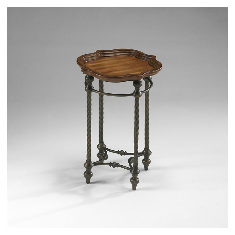 """Cyan Design 04096 26.25"""" English Oval Side Table Furniture End"""