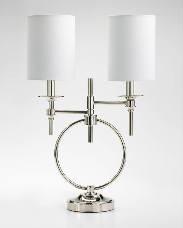 Cyan Design 04366 2 Light Table Lamp from the Knox Collection Chrome