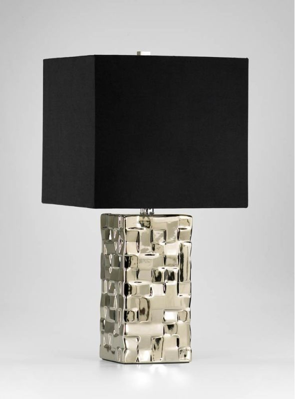 Cyan Design 04385 1 Light Table Lamp from the Java Collection Silver