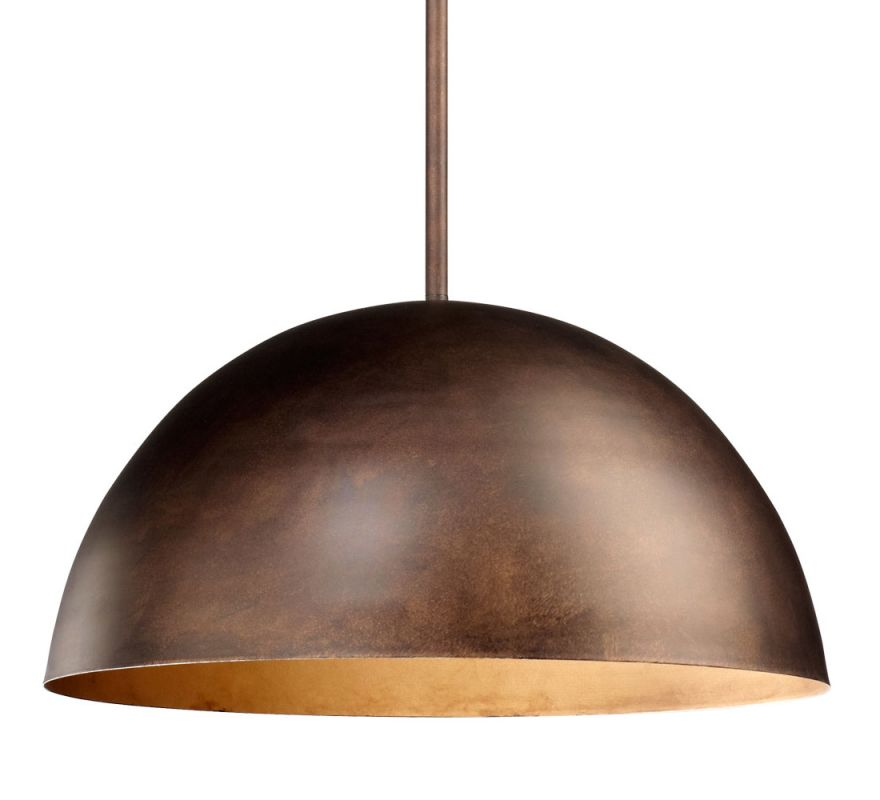 Cyan Design 04672 Carson 1 Light Full Size Pendant Oiled Bronze Indoor