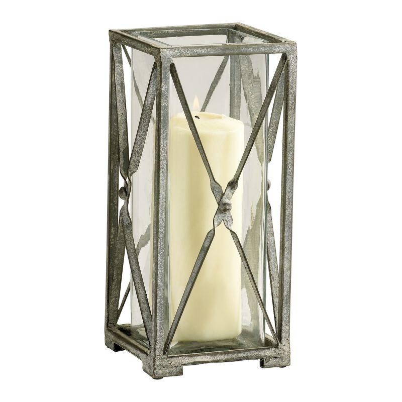 Cyan Design 04289 Large Ascot Candleholder Rustic Gray Home Decor