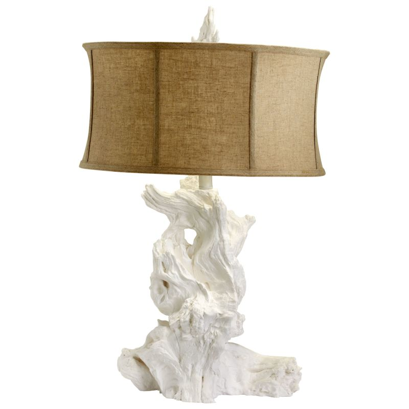 Cyan Design 04438 Driftwood 1 Light Table Lamp White Lamps Sale $345.00 ITEM: bci2257408 ID#:4438 UPC: 190808023339 :