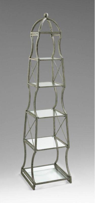 Cyan Design 04453 6 Shelf Chester Etagere Rustic Gray Furniture Sale $577.50 ITEM: bci2264563 ID#:4453 UPC: 190808031365 :