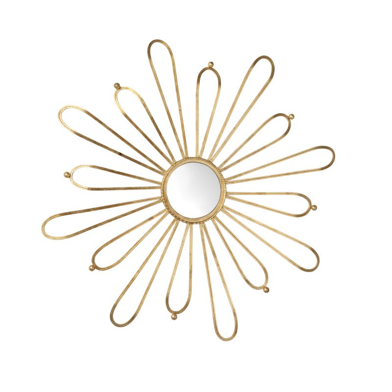 Cyan Design 04627 Cleopatra Rounded Mirror Gold Home Decor Lighting