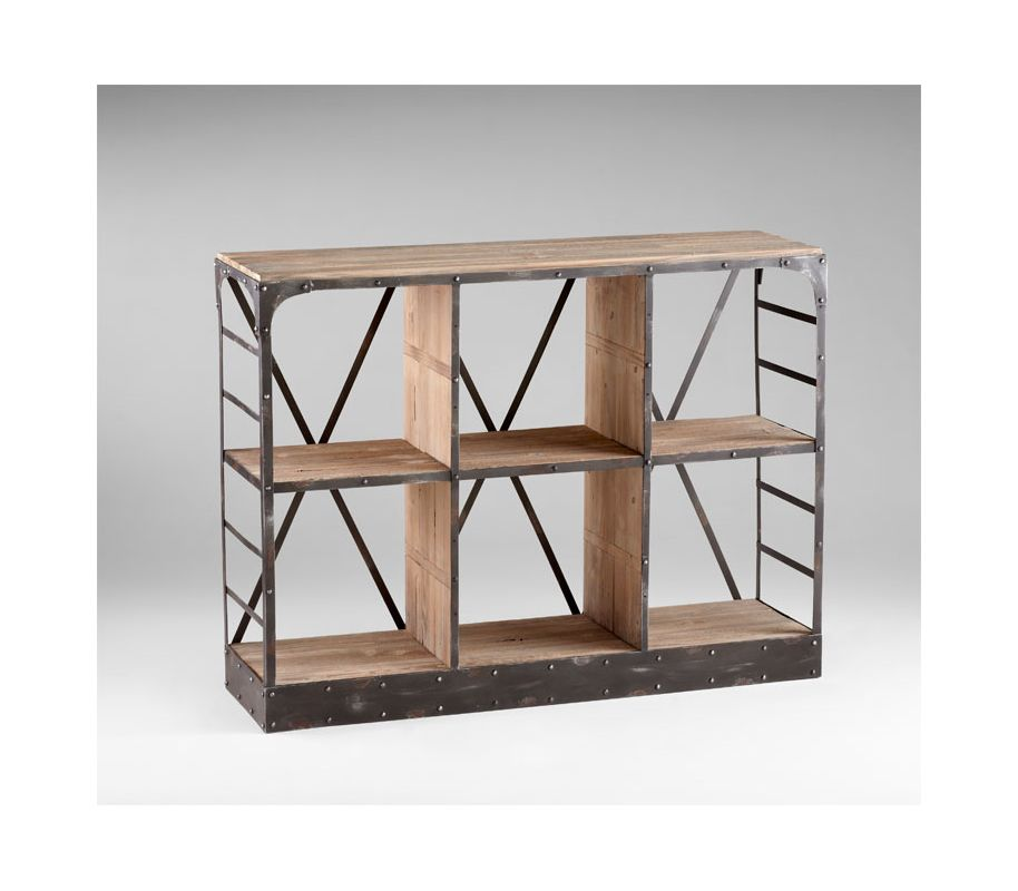 Cyan Design 04860 Newberg Storage Console Raw Iron / Natural Wood Sale $1130.00 ITEM: bci2264621 ID#:4860 UPC: 190808020963 :