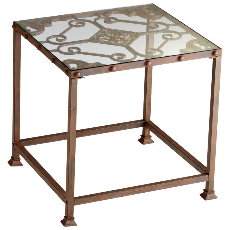 Cyan Design 04885 Alamosa Side Table Rust Furniture End Tables Sale $98.46 ITEM: bci2257539 ID#:4885 UPC: 190808022899 :