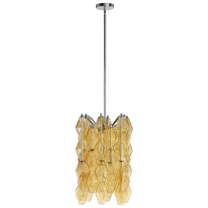 Cyan Design 05033 Boho 4 Light Full Size Pendant Amber Indoor Lighting