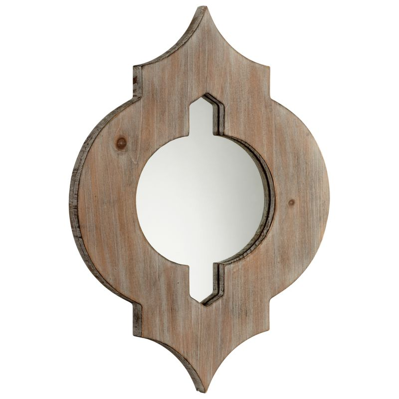 Cyan Design 05103 Turk Specialty Mirror Washed Oak Home Decor Lighting