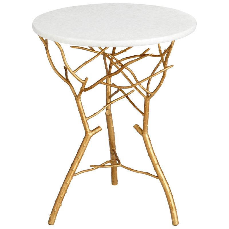 Cyan Design 05116 Langley Accent Table Gold Leaf Furniture End Tables Sale $607.50 ITEM: bci2257768 ID#:5116 UPC: 190808020451 :