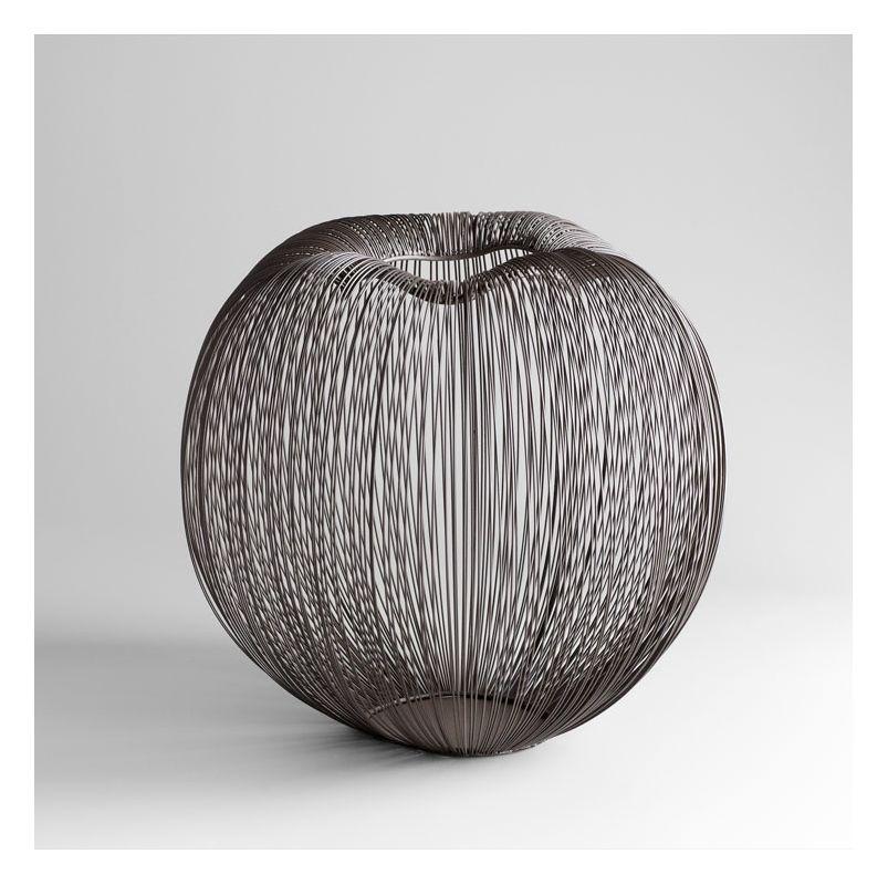 "Cyan Design 05133 16"" Large Anemone Vase Graphite Home Decor Vases"