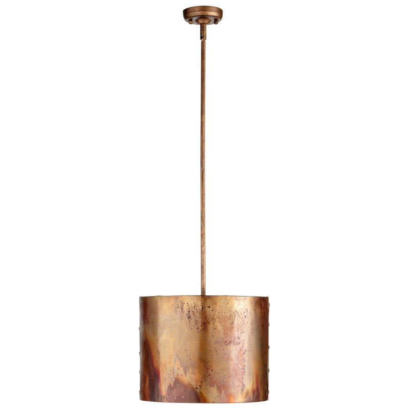 Cyan Design 05156 Mauviel 1 Light Full Size Pendant Copper Indoor