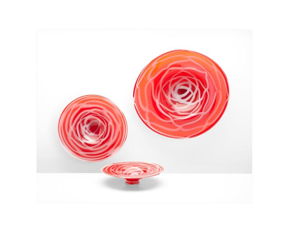 """Cyan Design 05188 25.5"""" Large Sophia Vase Red / White Home Decor Vases"""