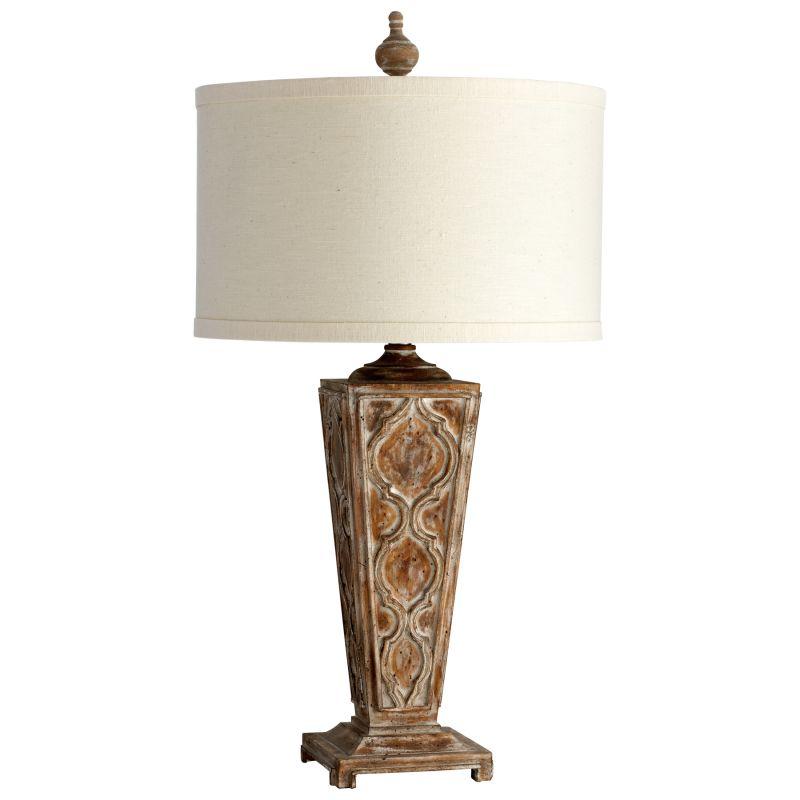 Cyan Design 05252 Nadja 1 Light Table Lamp Limed Gracewood Lamps