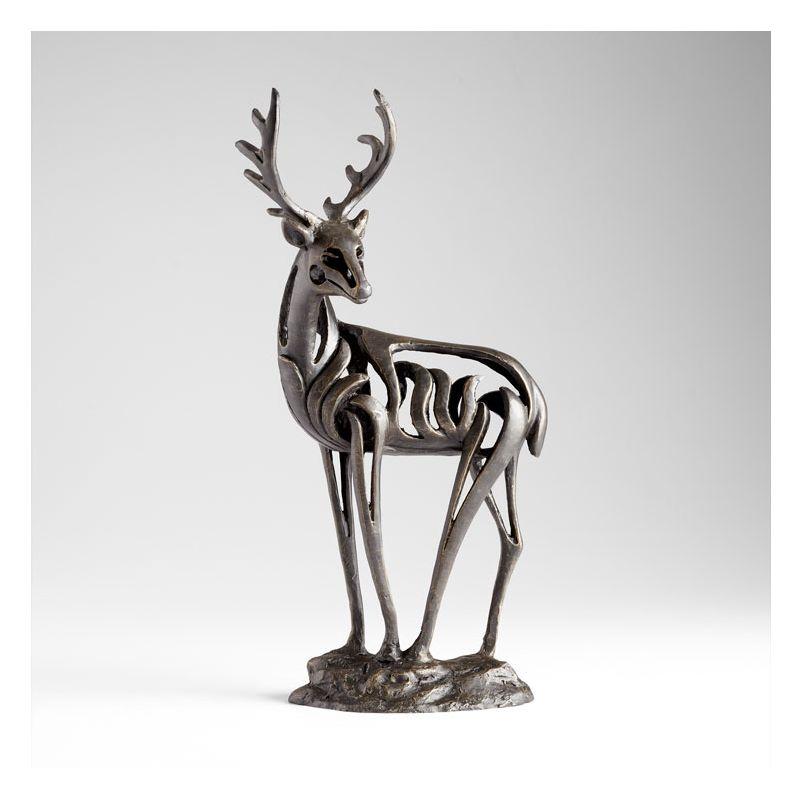 """Cyan Design 05272 22.5"""" Duray Deer Sculpture Old World Home Decor"""