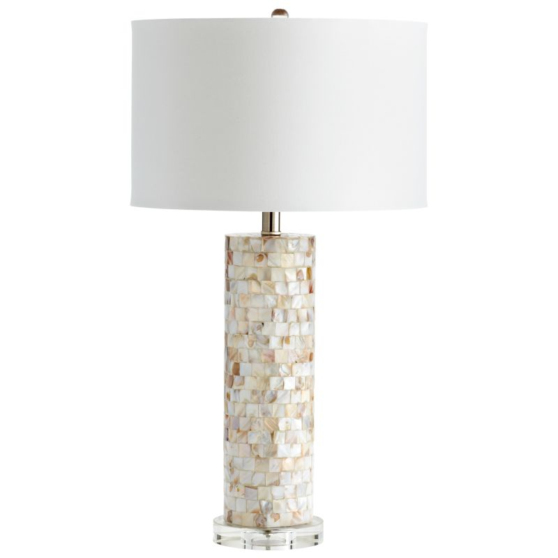 Cyan Design 05309 West Palm 1 Light Table Lamp Mother Of Pearl Lamps Sale $352.50 ITEM: bci2257874 ID#:5309 UPC: 190808030245 :