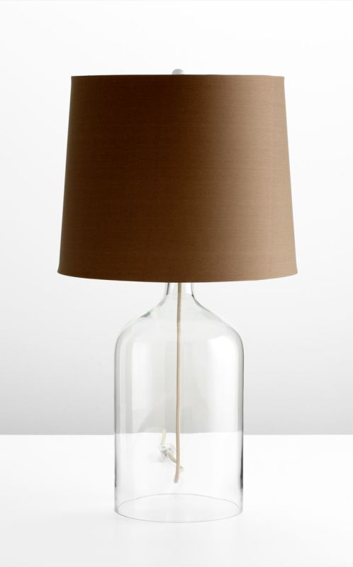 Cyan Design 05311-1 1 Light Table Lamp Clear Lamps