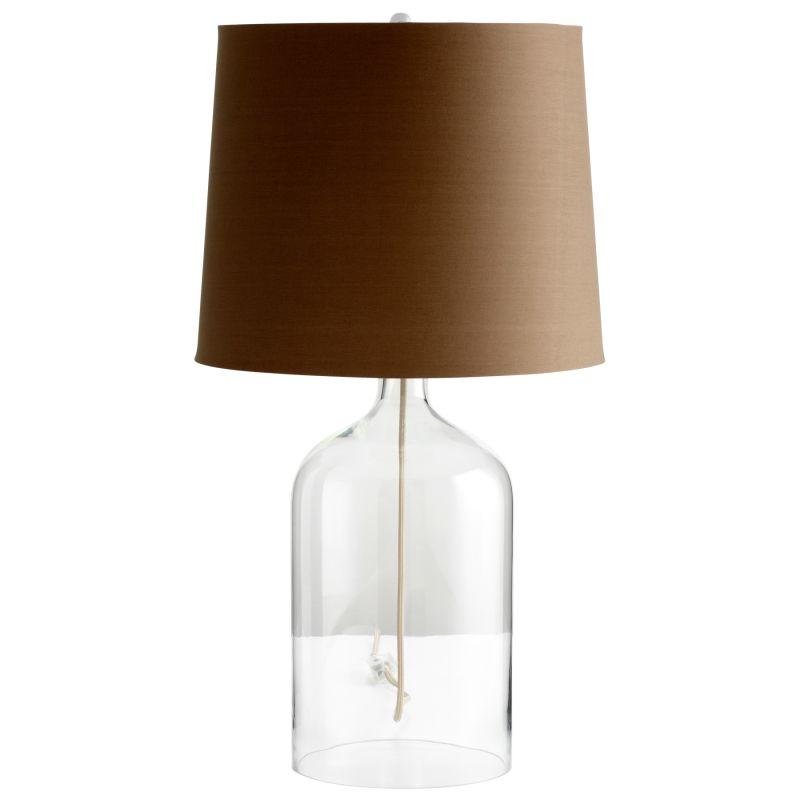 Cyan Design 05311 See Through 1 Light Table Lamp Clear Lamps Sale $109.23 ITEM: bci2257876 ID#:5311 UPC: 190808030283 :