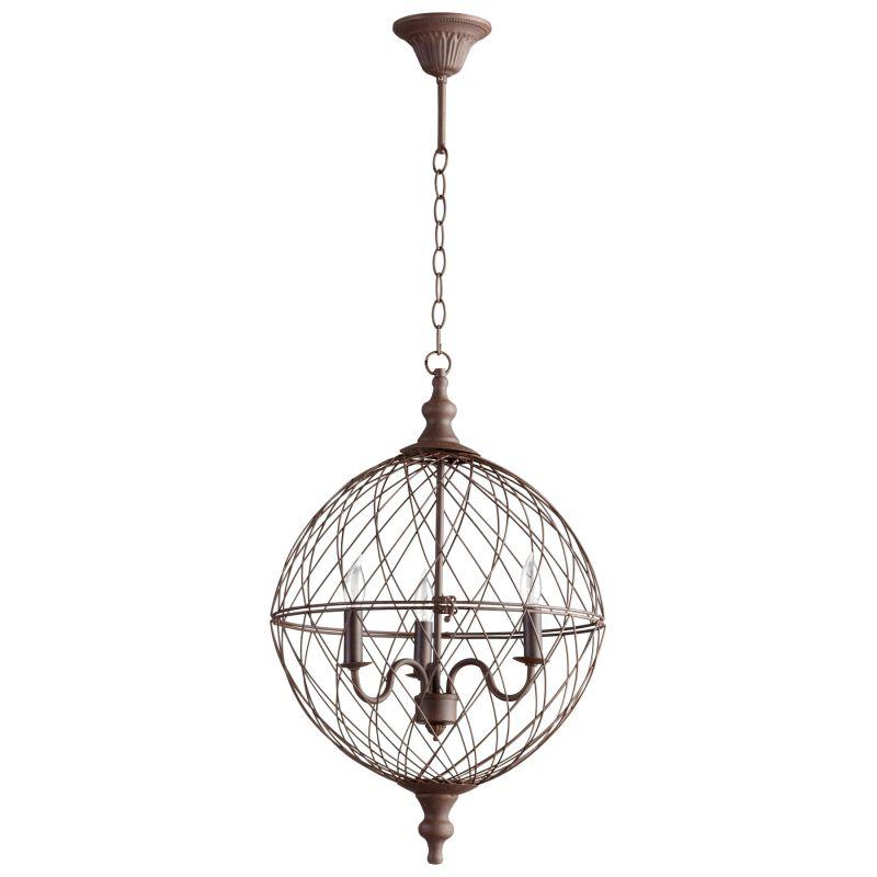 Cyan Design 05314 Castile 3 Light Globe Pendant Rustic Indoor Lighting