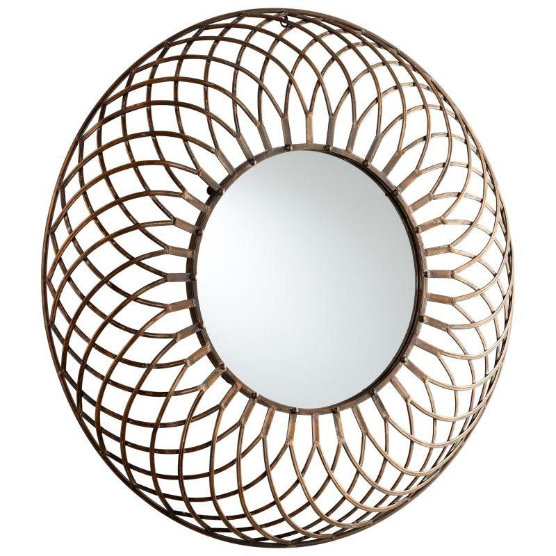 Cyan Design 05342 Fairplex Rounded Mirror Bronze Home Decor Lighting