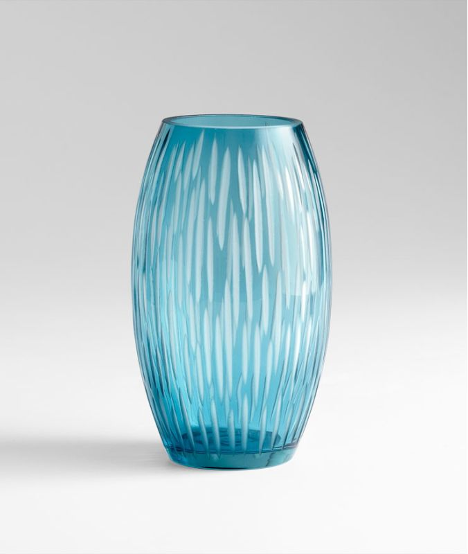 "Cyan Design 05373 10.75"" Small Klein Vase Blue Home Decor Vases"