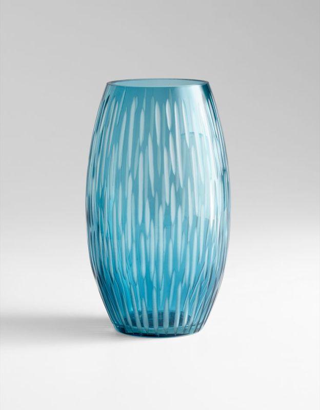 """Cyan Design 05374 12"""" Large Klein Vase Blue Home Decor Vases"""