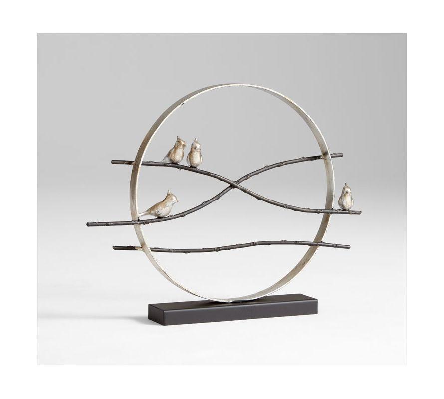 """Cyan Design 05536 21.5"""" Cardinal Limb Sculpture Antique Flemish / Old"""