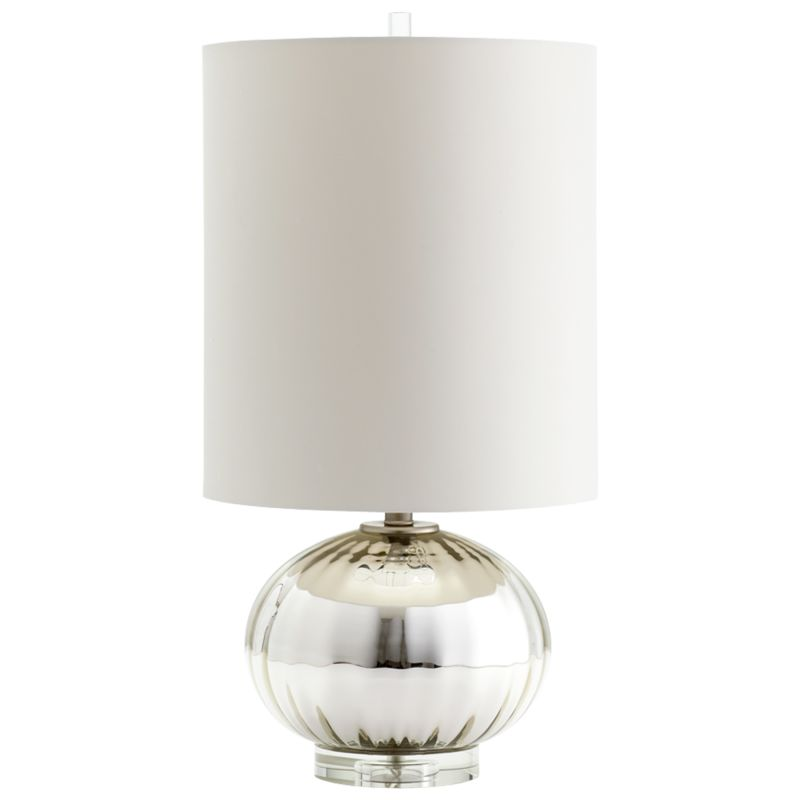 Cyan Design 05570 Barlett 1 Light Table Lamp Silver Grey Smoke Lamps Sale $119.23 ITEM: bci2257582 ID#:5570 UPC: 190808032287 :