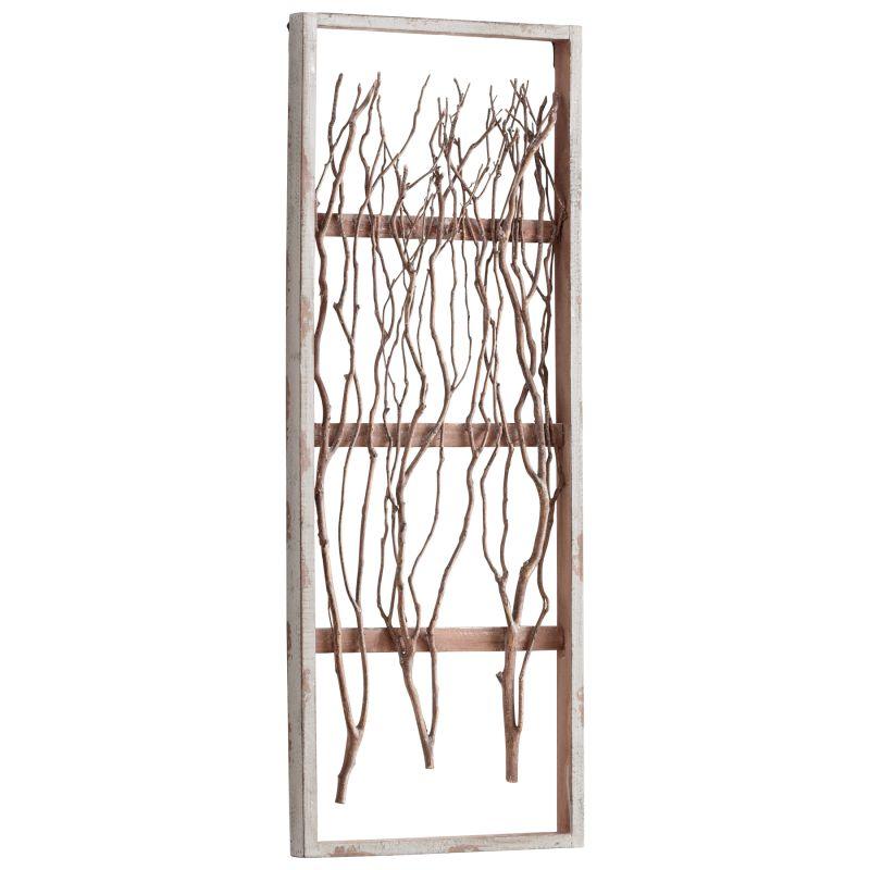 Cyan Design Wall Decor : Cyan design white twix wall decor lightingdirect