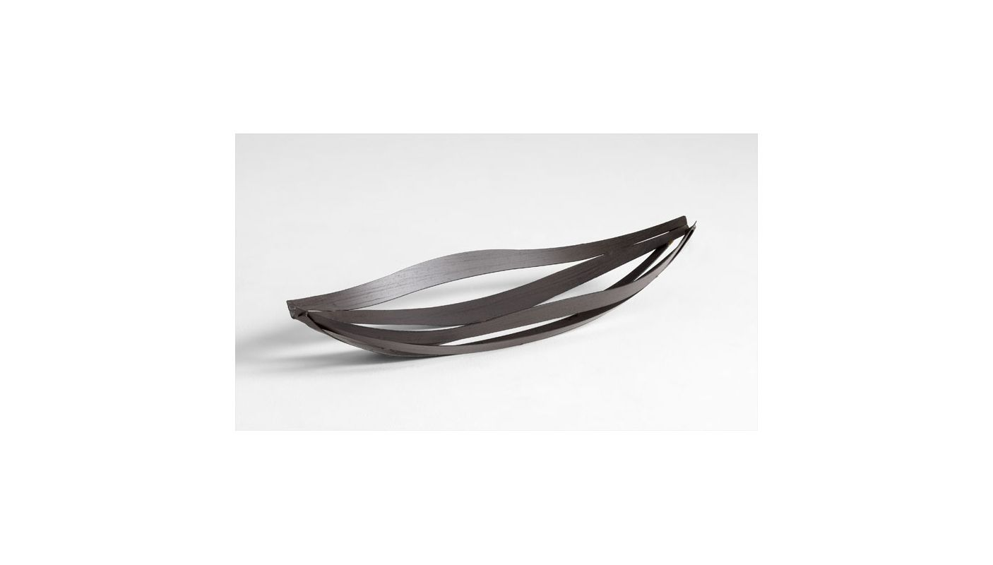"Cyan Design 05623 28"" Large Byron Tray Graphite Home Decor Decorative"