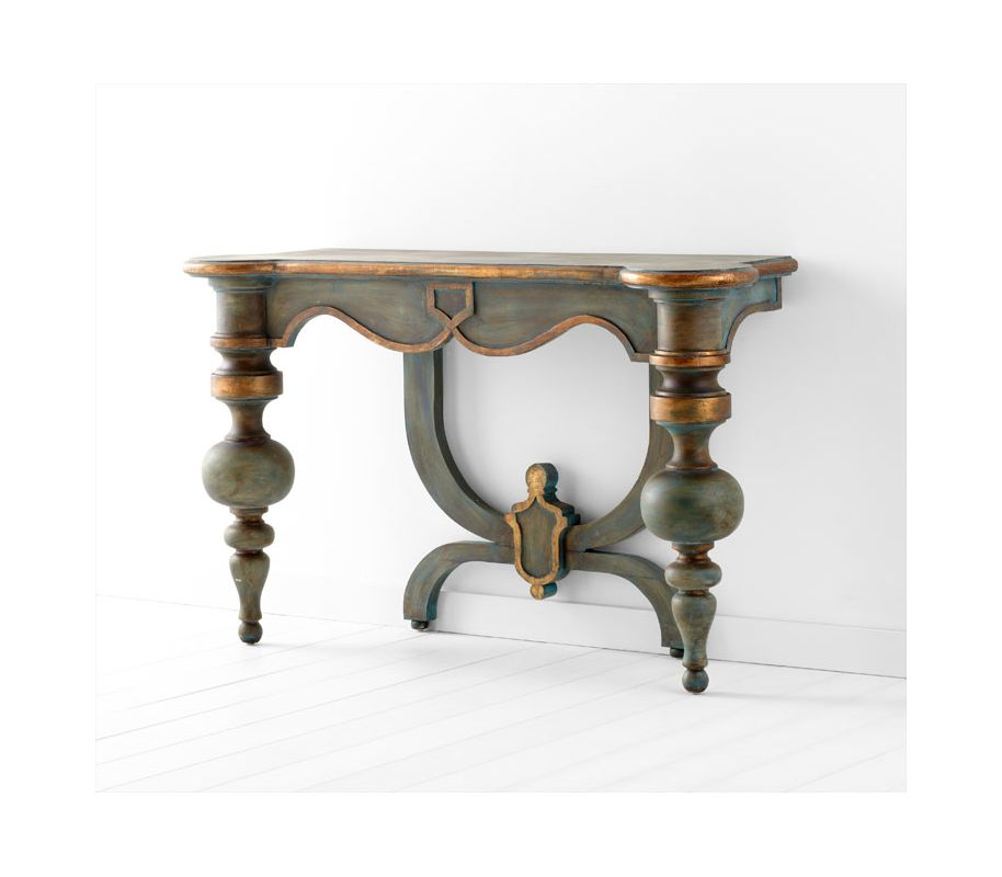 Cyan Design 05695 Lacroix Console Table Antiquarian Blue Furniture Sale $1572.50 ITEM: bci2264868 ID#:5695 UPC: 190808018779 :