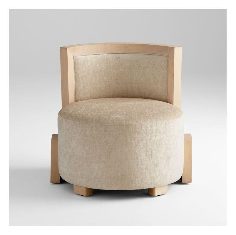 Cyan Design 05746 Ms. Aniston Chair Treasure Beige Furniture Side