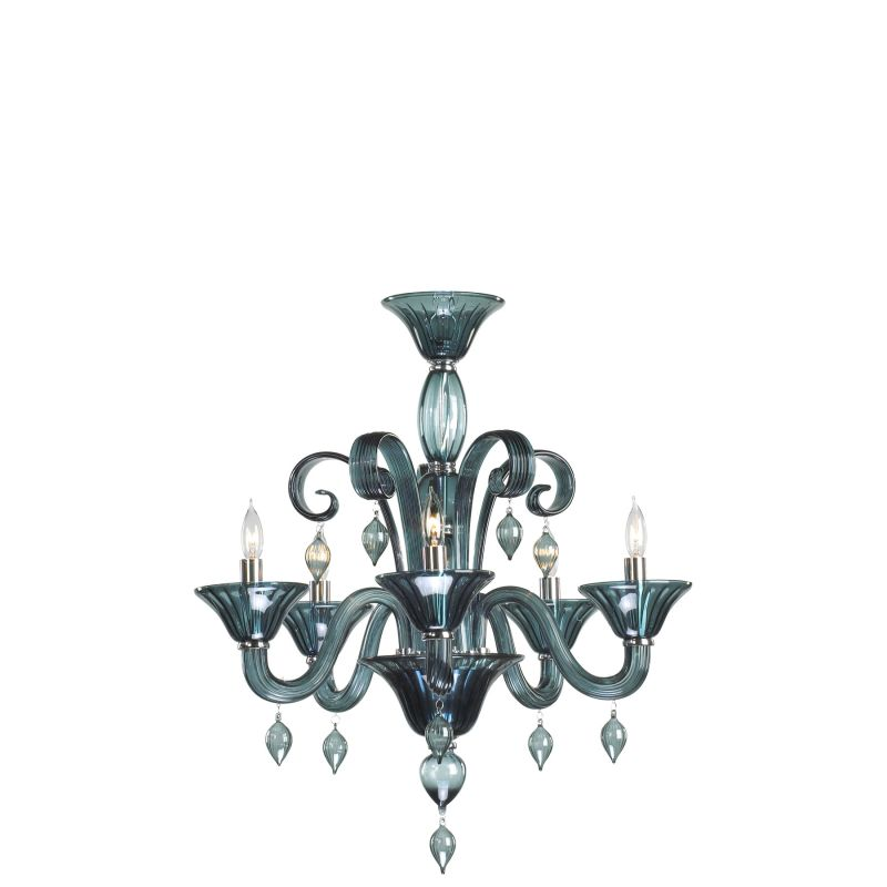 Cyan Design 6495-5-14 Treviso 5 Light 1 Tier Chandelier Chrome Indoor Sale $1272.50 ITEM: bci2257708 ID#:1678425 UPC: 190808000804 :