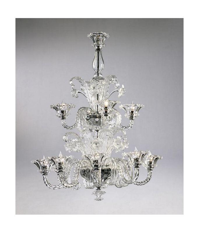 "Cyan Design 6826-12 43.25"" Twelve Lamp Chandelier from the La Scala"