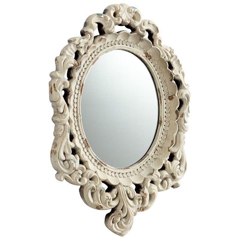 Cyan Design Ornate Illusions Mirror 20 x 14 Ornate Illusions Oval