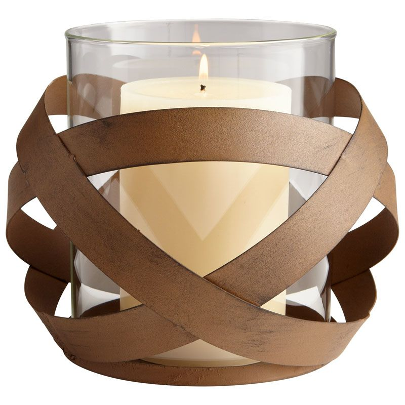 Cyan Design Large Infinity Candle Holder Infinity 7.5 Inch Tall Iron