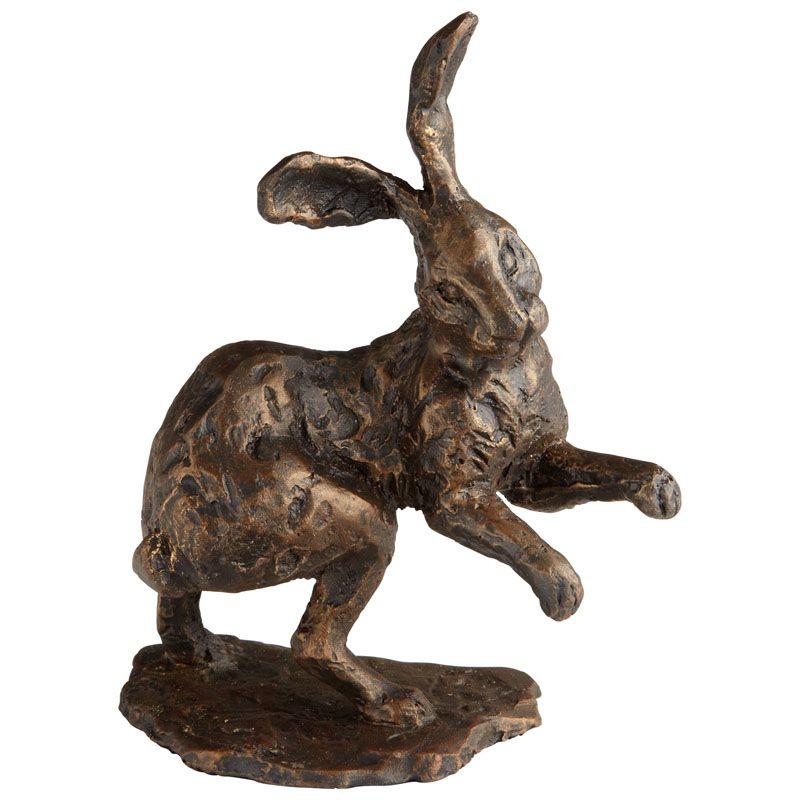 Cyan Design Brer Rabbit Sculpture Brer Rabbit 9.5 Inch High Iron