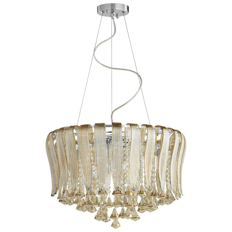 Cyan Design Olivia Eight Light Pendant Olivia 8 Light Pendant with