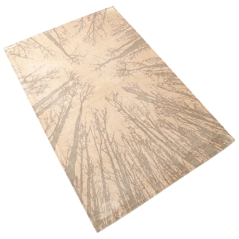 Cyan Design Birch Rug Taupe Birch Polyester Rug Made in the United