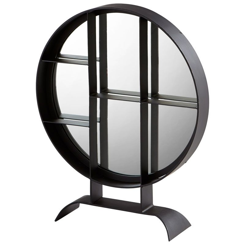 Cyan Design Small Nexus Mirror 27 x 22 Nexus Circular Iron Frame