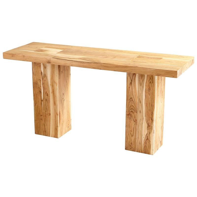 Cyan Design Yosemite Console Table Yosemite 62 Inch Long Wood Console