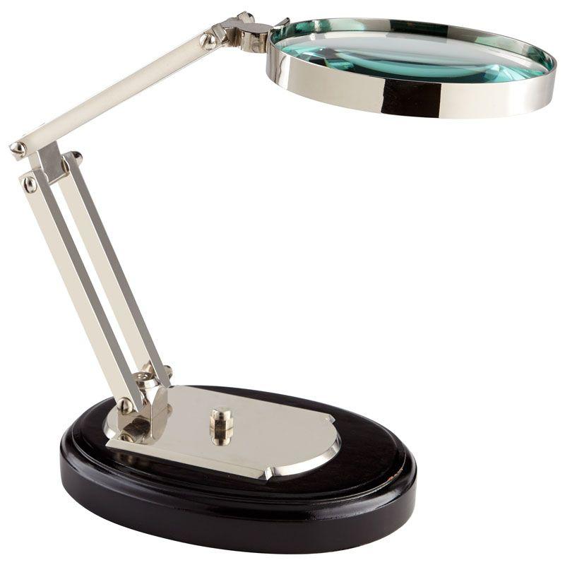 Cyan Design Focal Point Magnifier Focal Point 17.25 Inch Tall Brass
