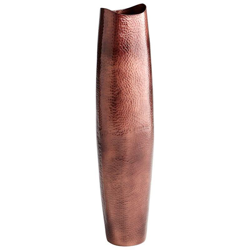 Cyan Design Large Tuscany Vase Tuscany 38.75 Inch Tall Aluminum Vase