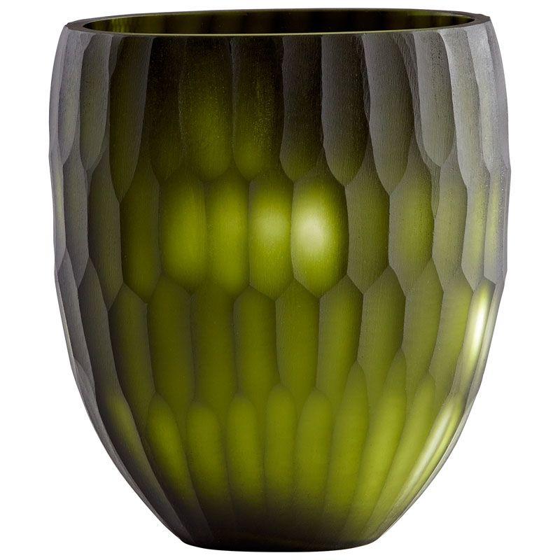 Cyan Design Small Reptilia Vase Reptilia 10 Inch Tall Glass Vase Green