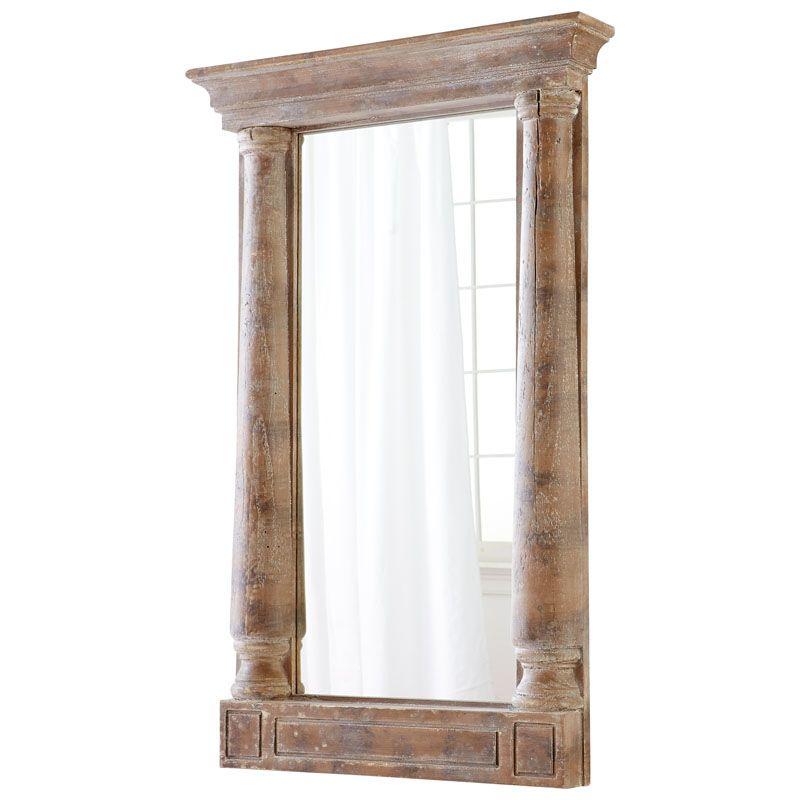 Cyan Design Bavaria Mirror 53.25 x 30 Bavaria Rectangular Wood Frame