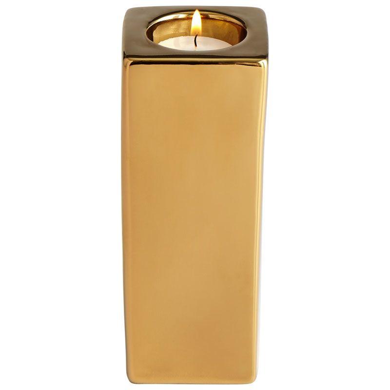 Cyan Design Large Etta Candle Holder Etta 6.25 Inch Tall Ceramic and