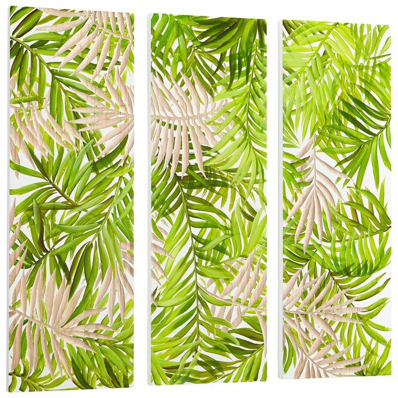Cyan Design Amazon Wall Art Amazon 47.25 x 47.25 Wood Wall Art Green