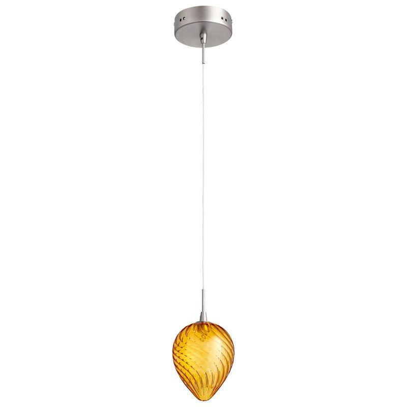 Cyan Design Spheroid Pendant Spheroid 1 Light Pendant with Clear Shade