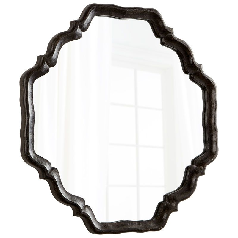 Cyan Design Outline Mirror 36.5 x 36.5 Outline Octagonal Wood Frame