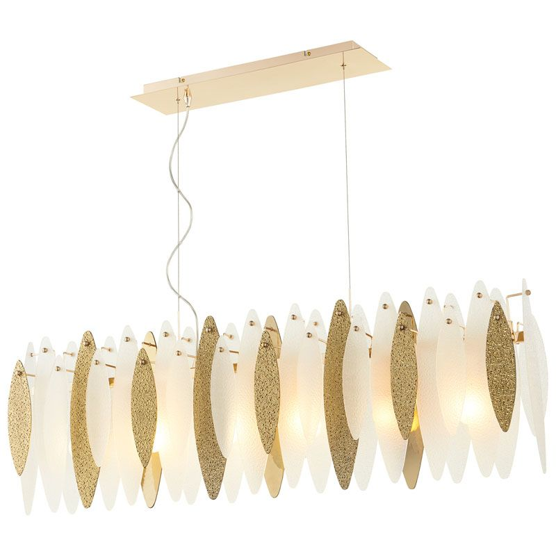 Cyan Design Vega Island Vega Island 6 Light 1 Tier Linear Chandelier