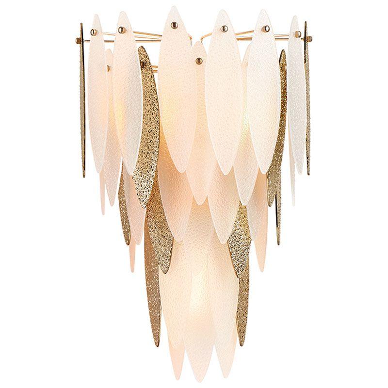 Cyan Design Vega Wall Sconce Vega 3 Light Wall Sconce with Cream Shade